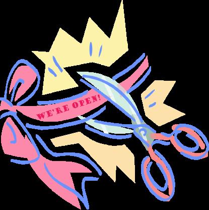 Ribbon and Scissors image