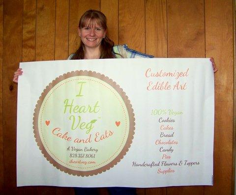 I Heart Veg Banner