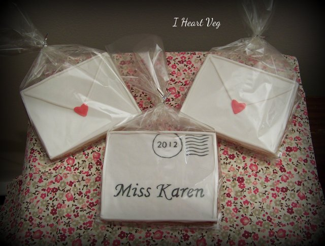 Edible Love Letters