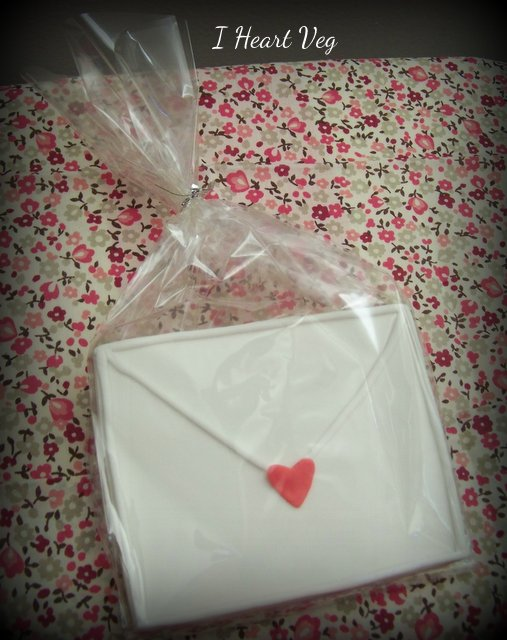 Sweet letters of love cookies