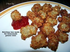 homemade potato tots