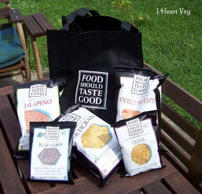 bags of food should taste good chips