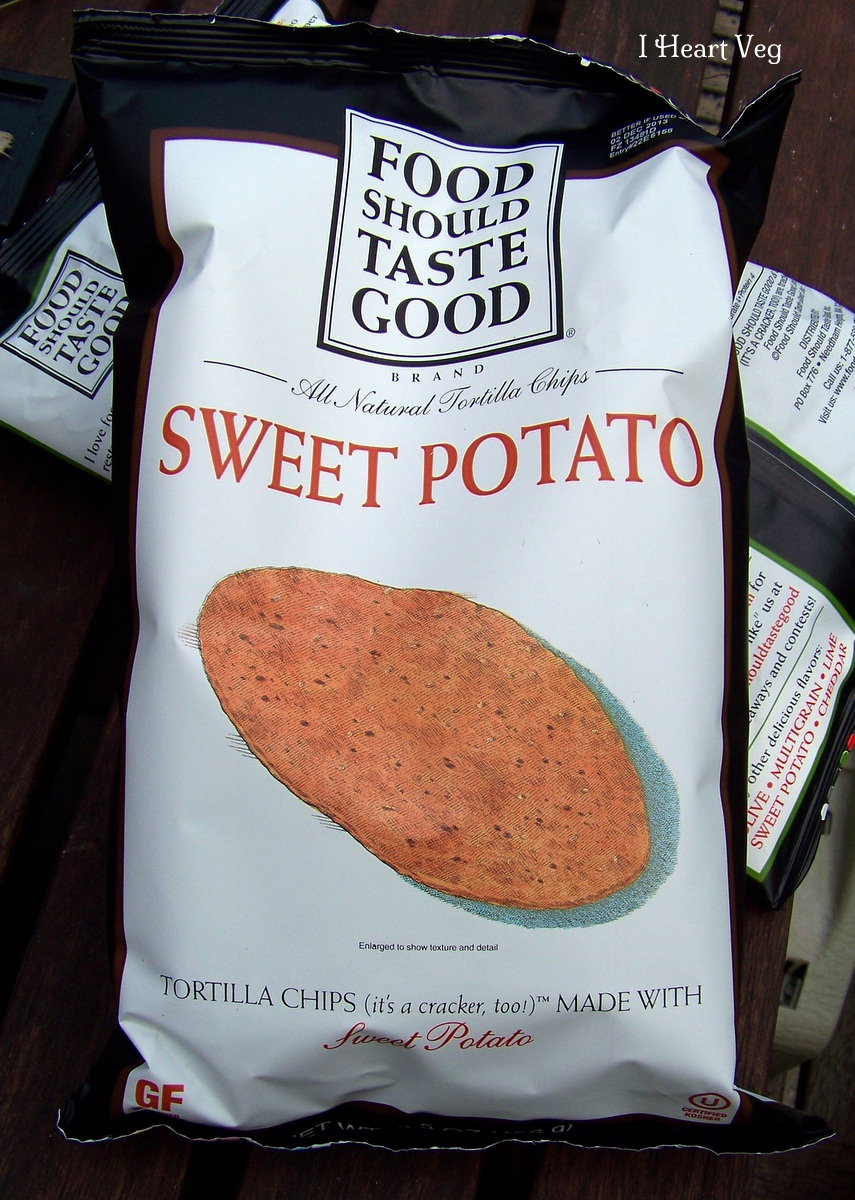 food should taste good chips sweet potato