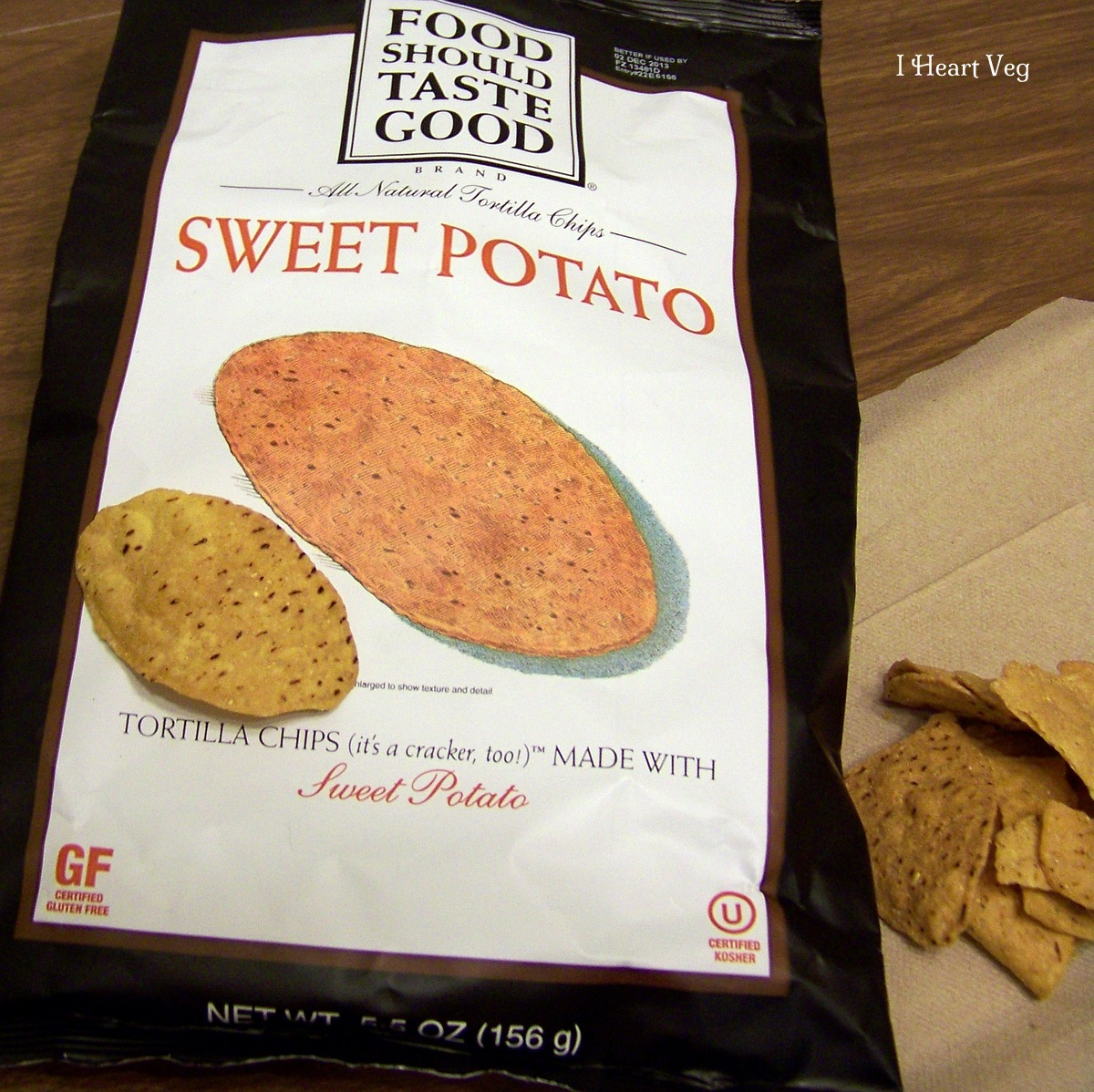 food should taste good sweet potato chip