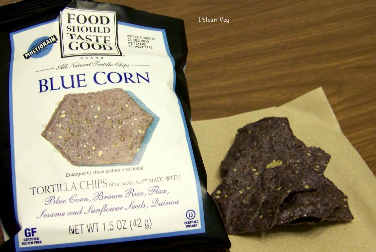 blue corn chips Food Should Taste Good