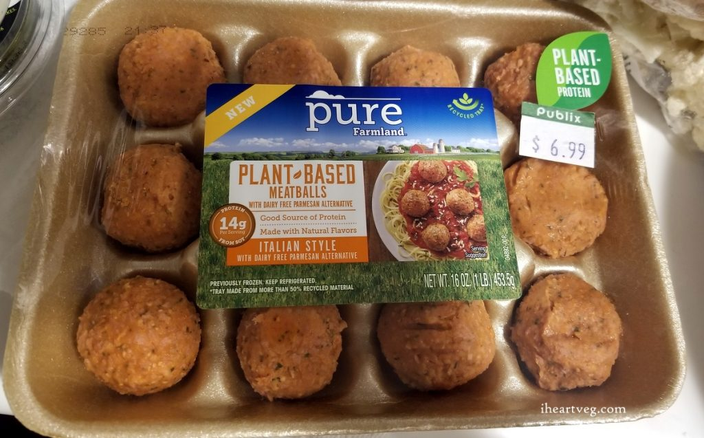 Pure Farmland Plant Based Meatballs