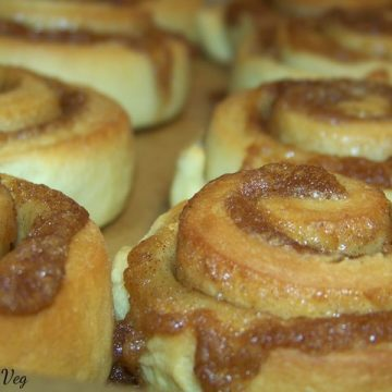 Vegan Cinnamon Rolls at Black Mountain NC